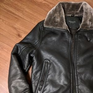 Marc New York andrew marc leather shearling jacket